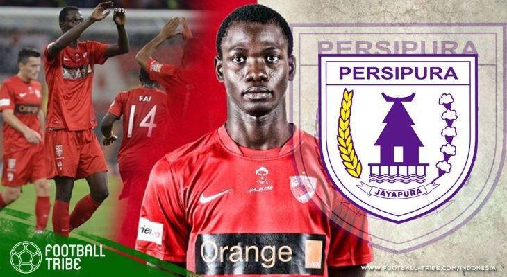 Persipura Rekrut Penyerang Baru dari Senegal