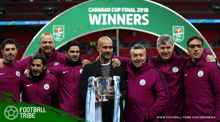 Trofi Piala Carabao, Tonggak Awal Dominasi Pep Guardiola di Inggris