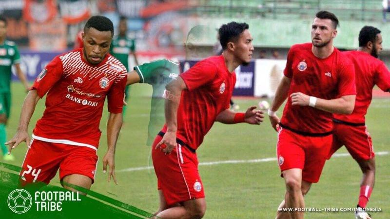 Kemenangan meyakinkan Persija Jakarta