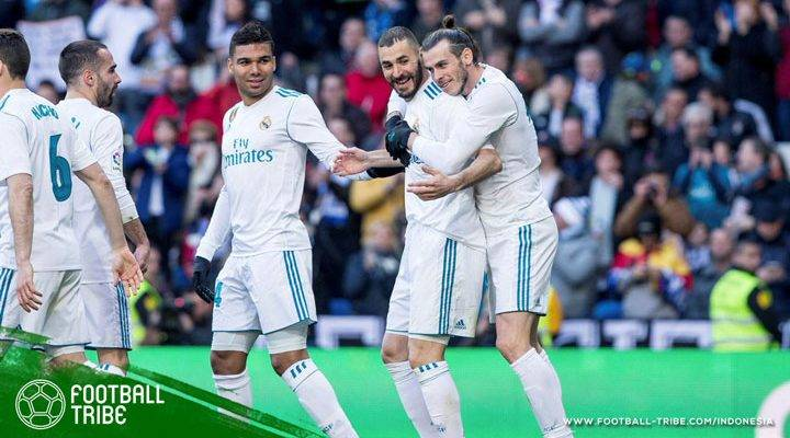 Trio BBC Cemerlang, Real Madrid Kembali Menang