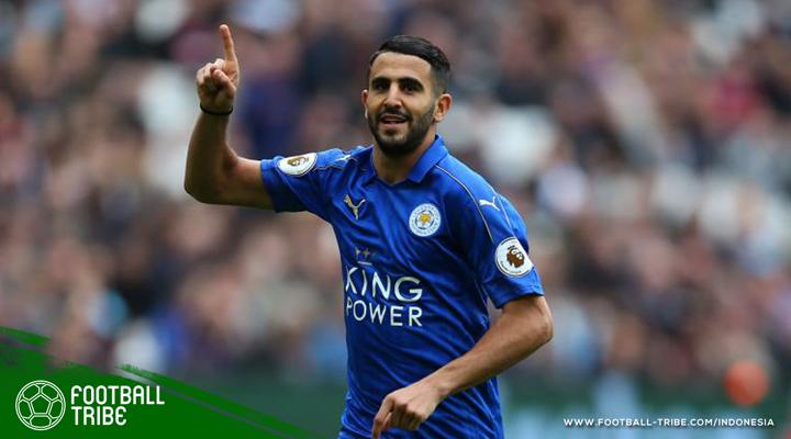 Bolos Latihan karena Batal Pindah (Lagi) ke Tim Besar, Riyad Mahrez Didenda Leicester City