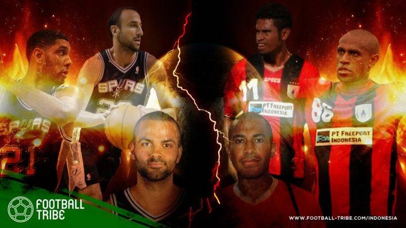 trio pemain yang dimiliki oleh Persipura Jayapura