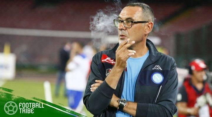 """Maurizio Sarri: """"Aku Tidak Bisa Berhenti Merokok"""""""