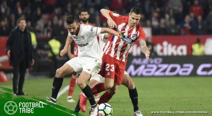 Sevilla Dibantai Atletico Madrid, Posisi Montella Kembali Terancam