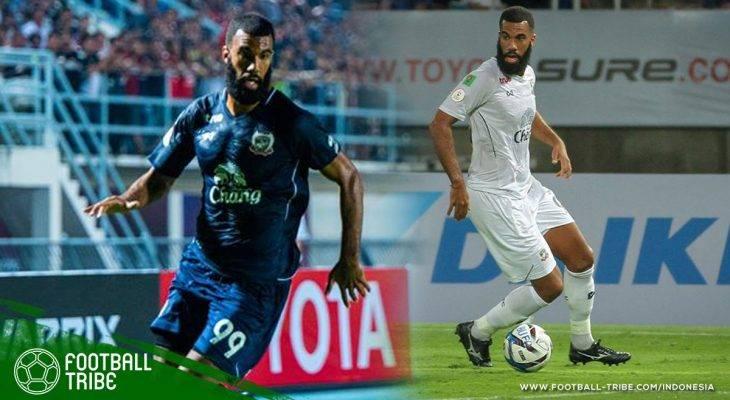 Sylvano Comvalius Masih Kering Gol di Suphanburi FC