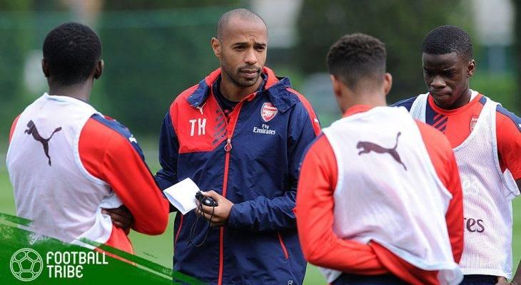 Menimang Kelayakan Thierry Henry Menjadi Manajer Arsenal
