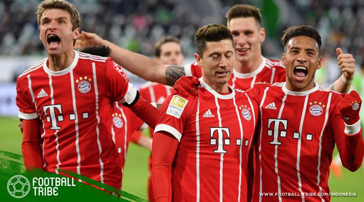 Permalukan Wolfsburg, Bayern Muenchen Catat 10 Kemenangan Beruntun