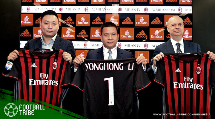 Pemilik AC Milan Dinyatakan Bangkrut!