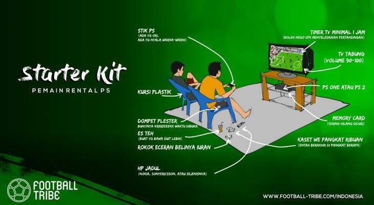 Winning Eleven dan Starter Kit Para Umatnya di Rental PlayStation