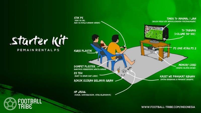 starter kit para umat Winning Eleven