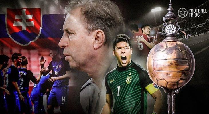 Tim Nasional Thailand Tantang Slovakia di Final Turnamen King's Cup