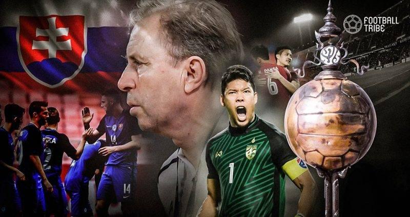 Thailand sukses melaju ke final King's Cup 2018