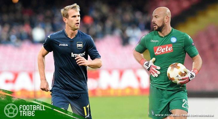 Pepe Reina dan Ivan Strinic: Kebijakan Lama Rasa Baru dari Manajemen AC Milan
