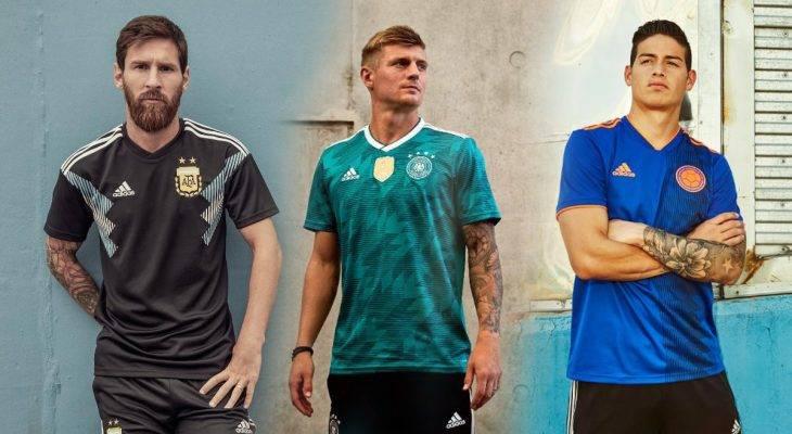 Parade Jersey Tandang Tim Nasional Keluaran adidas untuk Piala Dunia 2018