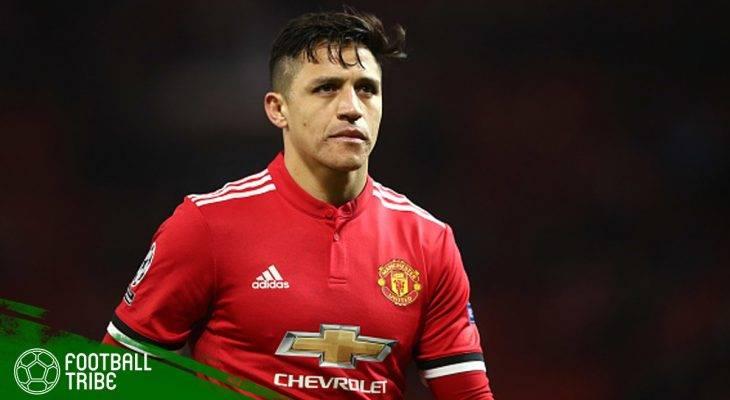Alexis Sanchez dan Berbagai Rekor Kehilangan Bola yang Ditorehkan bersama Manchester United
