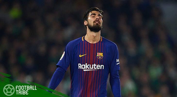 Andre Gomes dan Perasaan Depresi Bermain di Barcelona