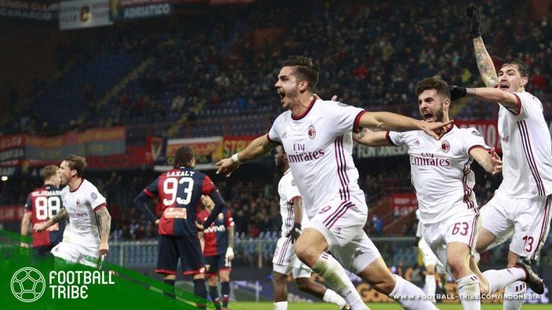 AC Milan sukses memperpanjang catatan