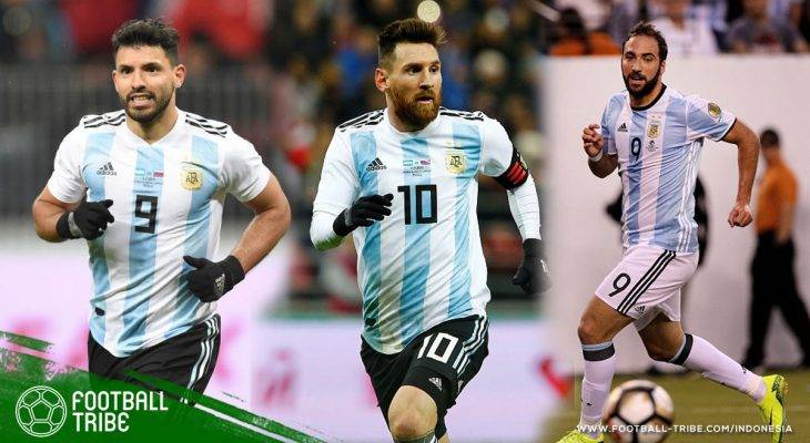 Dipilih…Dipilih…Penyerang Argentina untuk Dibawa ke Piala Dunia 2018