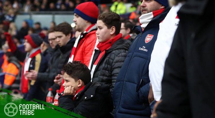 Tangisan seorang Penggemar Arsenal di Acara Radio BBC