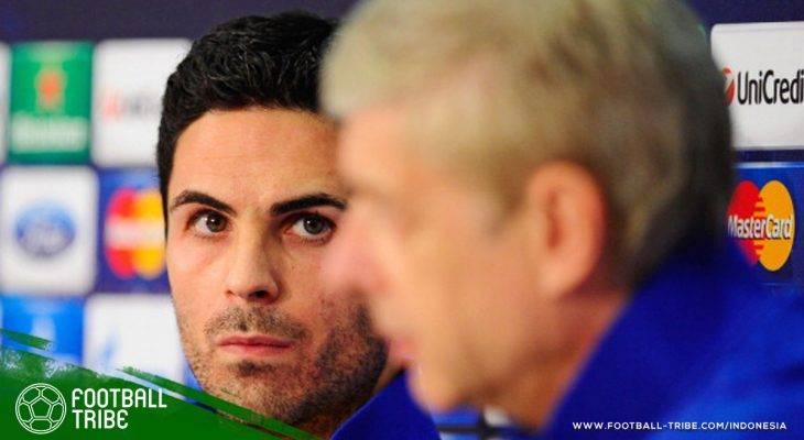 Mikel Arteta yang Mulai Diperhitungkan sebagai Penerus Arsene Wenger