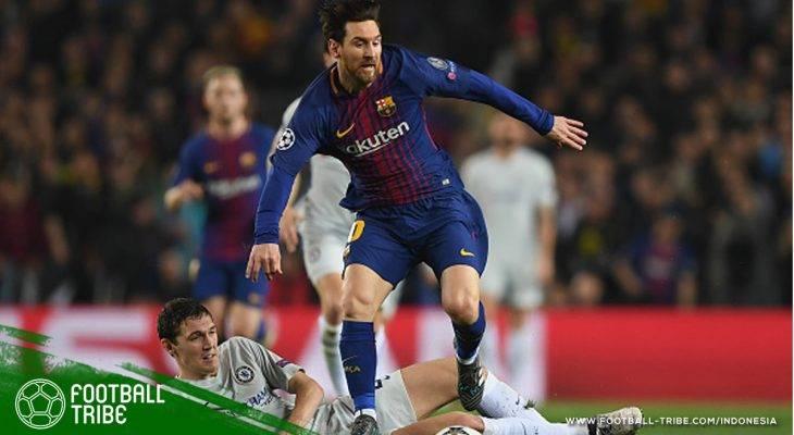 Menang Tiga Gol, Barcelona Singkirkan Chelsea dari Liga Champions