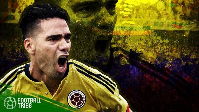 Falcao memulai kariernya di timnas Kolombia