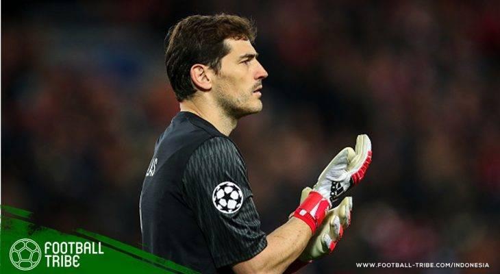 Gemilangnya Penampilan ke 167 Iker Casillas di Liga Champions