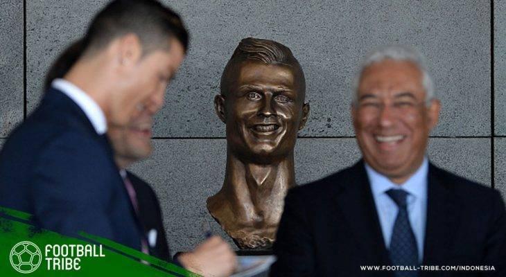 Setahun Jadi Bahan Ejekan, Patung Cristiano Ronaldo Tak Lagi Terlihat Konyol