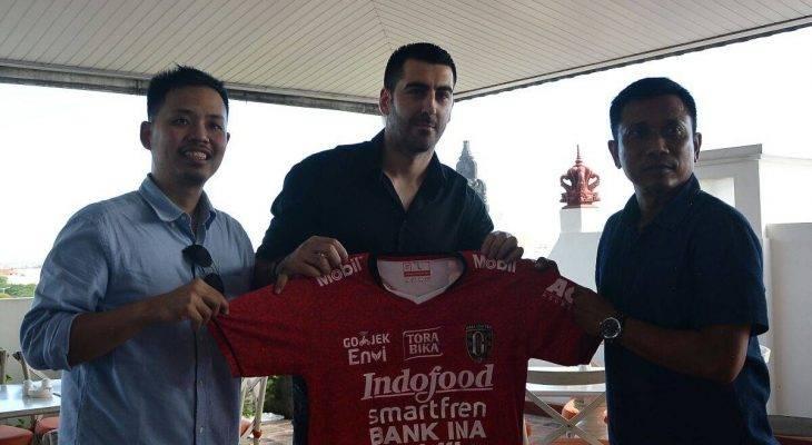 Milos Krkotic, Penggawa Asing Baru Bali United untuk Menggantikan Kevin Brands