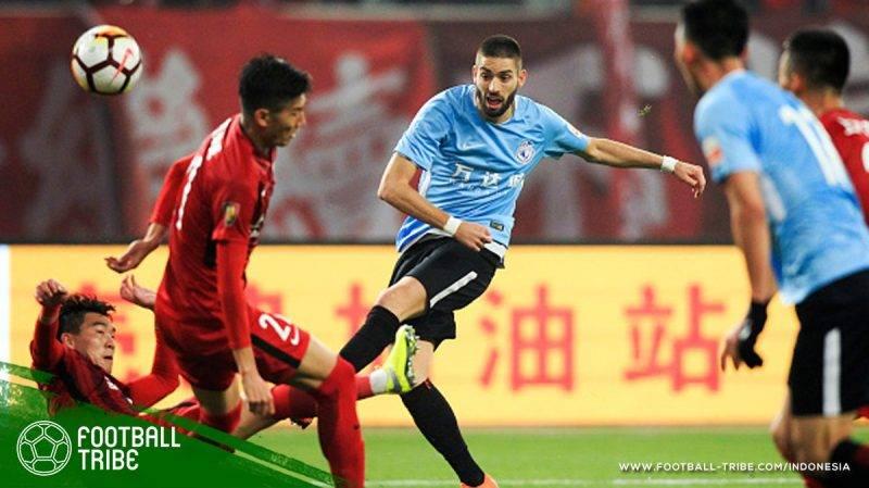Dalian dibantai 0-8 oleh Shanghai SIPG