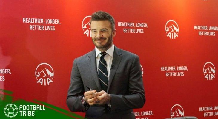 Seandainya David Beckham Sempat Bermain di Sepak Bola Indonesia