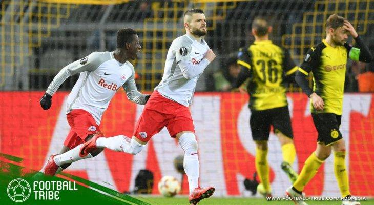 Serudukan Salzburg Kejutkan Dortmund