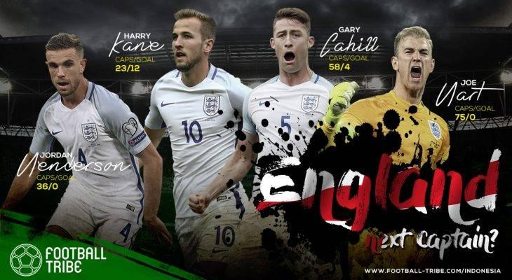 Siapa yang Pantas Jadi Kapten Timnas Inggris di Piala Dunia 2018?