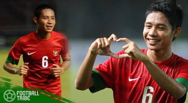 Evan Dimas, dari Negeri Jiran ke Kalimantan