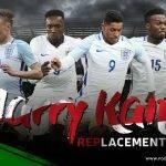 Para Calon Pengganti Harry Kane sebagai Penyerang Utama Timnas Inggris di Piala Dunia 2018