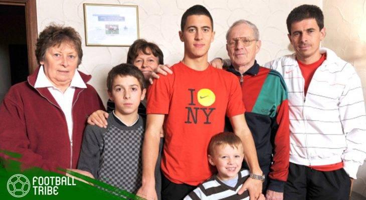 Eden Hazard dan Darah Sepak Bola yang Mengalir dalam Keluarganya
