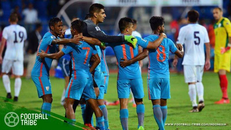 India berhasil lolos ke putaran final Piala Asia