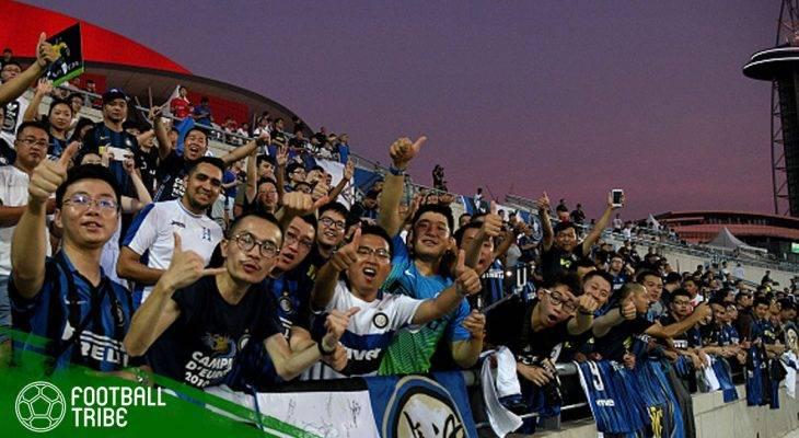 Suporter Internazionale Milano di Cina Layangkan Protes ke Grup Suning