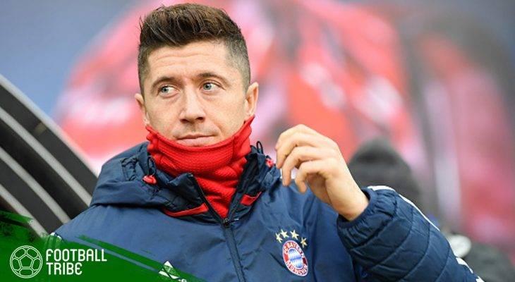 Menertawakan Rumor Transfer Robert Lewandowski ke Arsenal