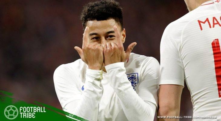 Jesse Lingard, Calon Senjata Rahasia Timnas Inggris di Piala Dunia 2018