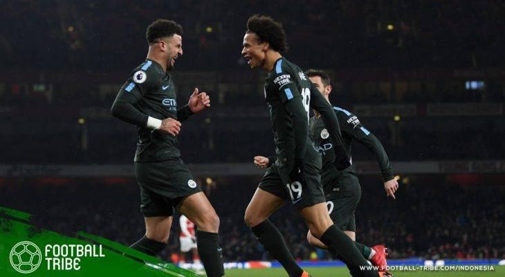 Kalahkan Arsenal (Lagi), Manchester City Menuju Tangga Juara