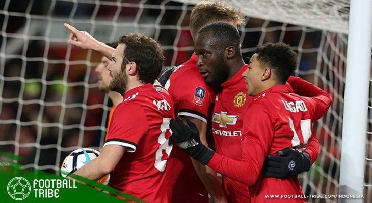 Kandaskan Brighton, Manchester United Rebut Tiket Semifinal FA Cup