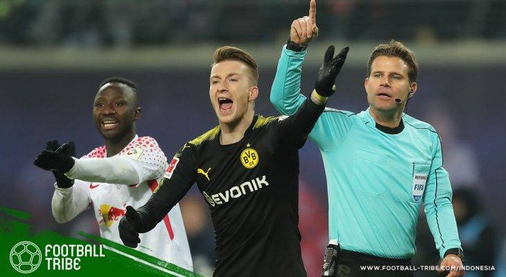 Dortmund Tahan Leipzig, Marco Reus Cetak Gol Bersejarah