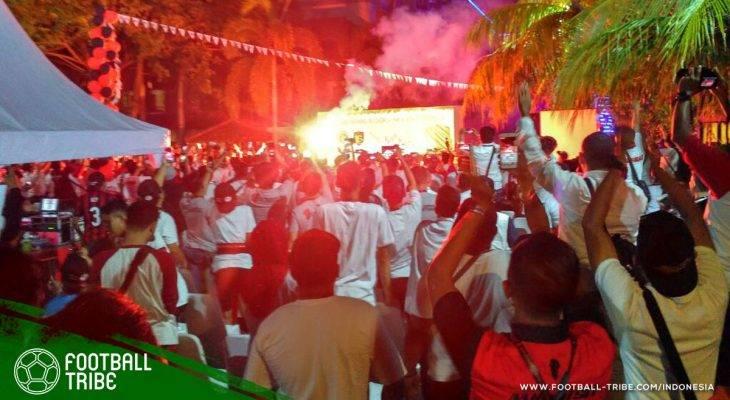 Semarak Gathering Nasional Milanisti Indonesia di Pulau Lombok