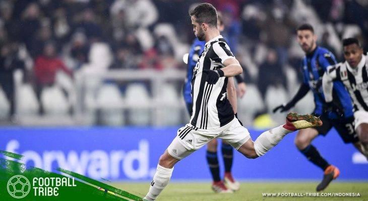 Penalti Miralem Pjanic Antar Juventus ke Final Piala Italia