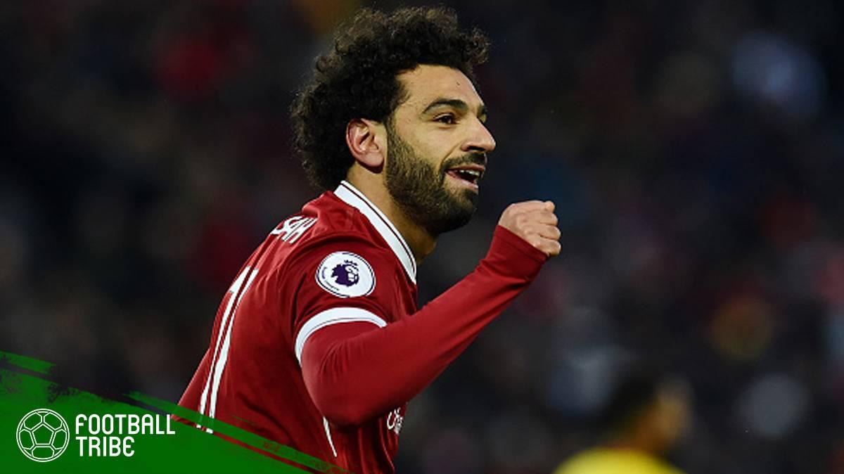 aksi-aksi Mohamed Salah