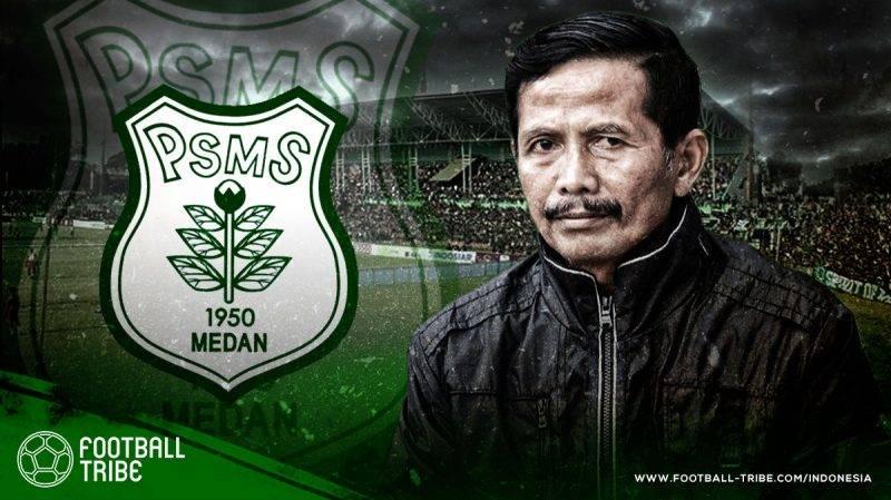 prestasi tertinggi PSMS Medan Petualangan Djadjang Nurdjaman di PSMS