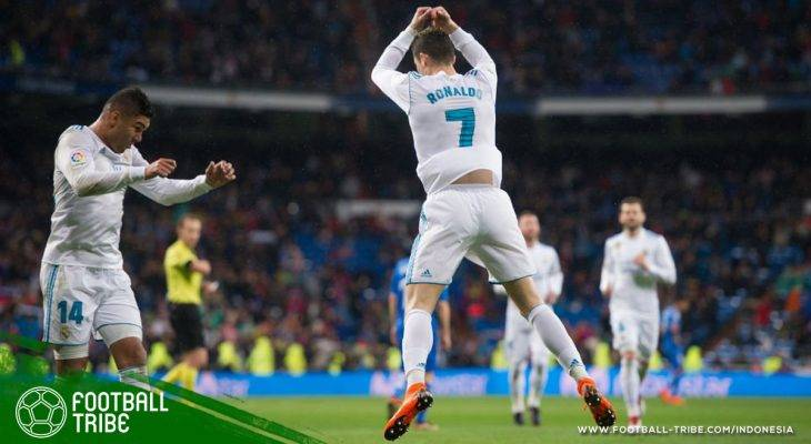 Bale dan Ronaldo Kembali Ganas, Real Madrid Kembali ke Jalur Kemenangan