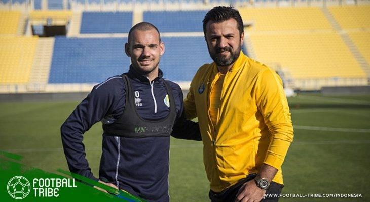 Wesley Sneijder yang Rajin Cetak Gol di Al-Gharafa