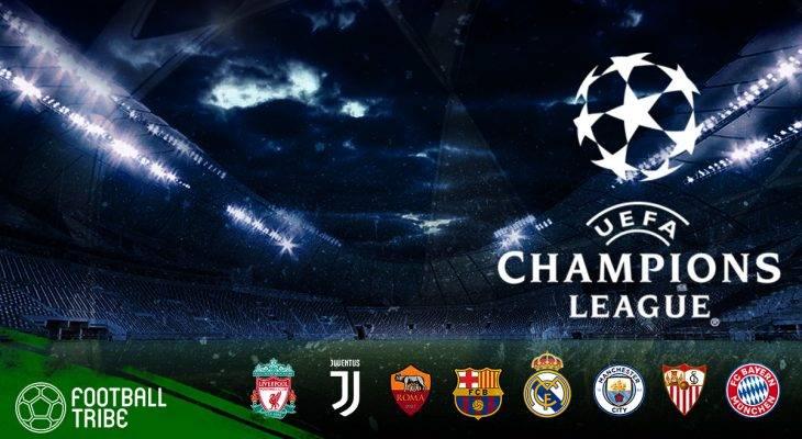 Hasil Undian Babak Perempat-Final Liga Champions Eropa